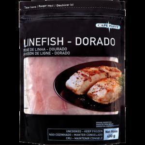 Cape Point Frozen Linefish Dorado Portions 400g