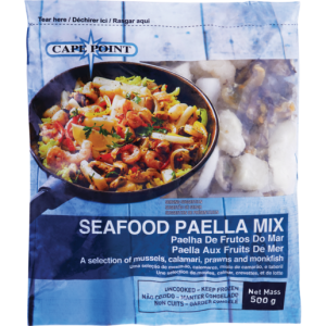 Cape Point Frozen Seafood Paella Mix 500g