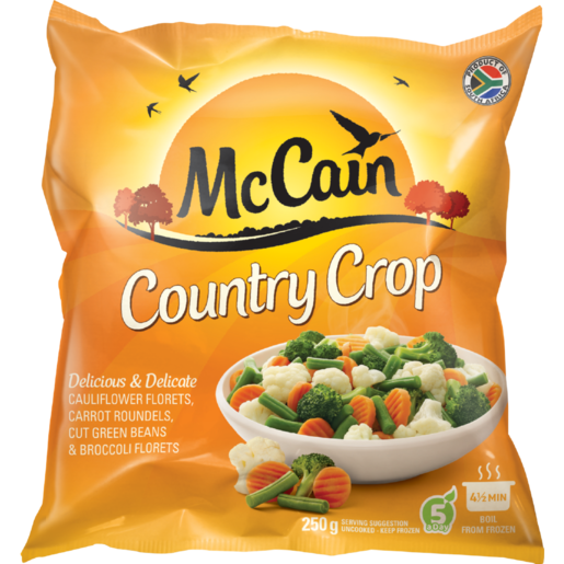 McCain Country Crop Frozen Mixed Vegetables 250g