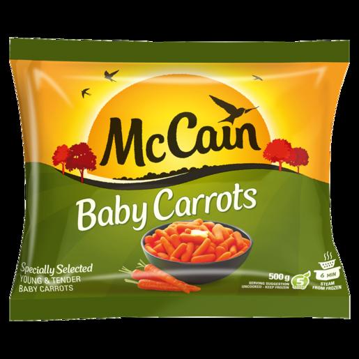 McCain Frozen Baby Carrots 500g