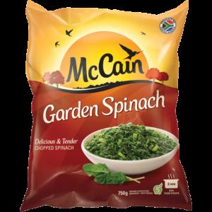 McCain Frozen Garden Spinach 750g