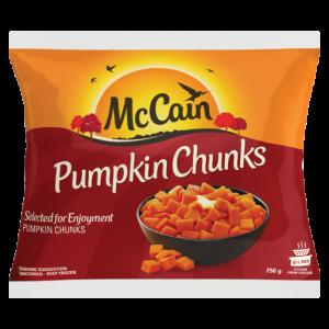 McCain Frozen Pumpkin Chunks 750g