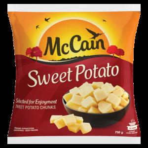 McCain Frozen Sweet Potatoes 750g