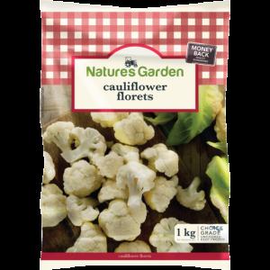 Natures Garden Frozen Cauliflower Florets 1kg