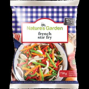 Natures Garden Frozen French Stir Fry 750g
