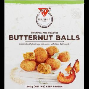 Fry's Frozen Chickpea & Roasted Butternut Balls 240g