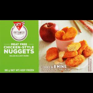 Fry's Frozen Vegetarian Chicken-Style Nuggets 380g