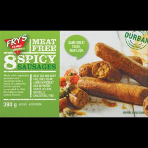 Fry's Frozen Vegetarian Spicy Sausages 380g