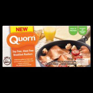 Quorn Meat Free Breakfast Rashers 150g