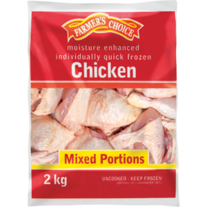 Farmer's Choice Individually Quick Frozen Mixed Chicken Portions 2kg