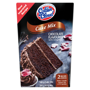 Golden Cloud Chocolate Flavoured Cake Mix With Icing Mix 800g