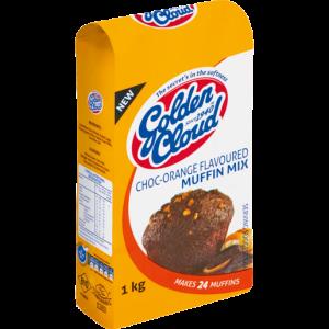 Golden Cloud Chocolate Orange Muffin Mix 1kg