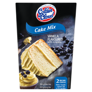 Golden Cloud Vanilla Flavoured Cake Mix With Icing Mix 700g