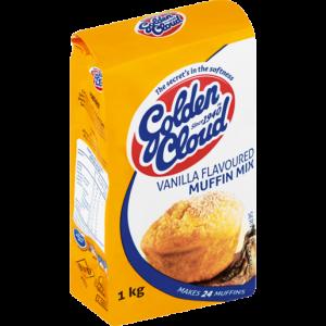 Golden Cloud Vanilla Muffin Mix 1kg