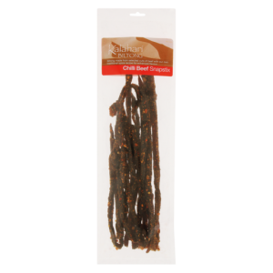 Kalahari Biltong Chilli Bite Snapstix Per kg