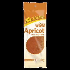 Safari Apricot Mixed Fruit Roll 80g