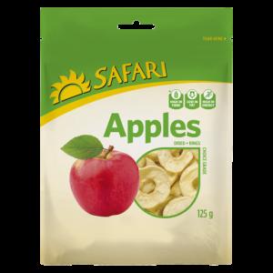 Safari Dried Apple Rings 125g