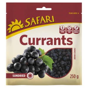 Safari Dried Currants 250g