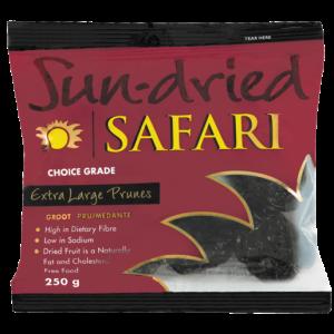 Safari Dried Extra Large Prunes 250g