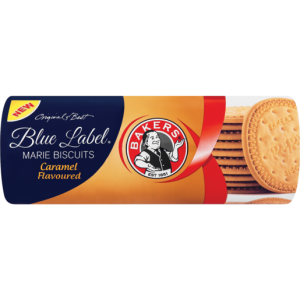 Bakers Blue Label Caramel Marie Biscuits 200g