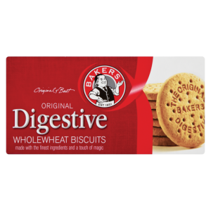 Bakers Original Digestive Wholewheat Biscuits 200g