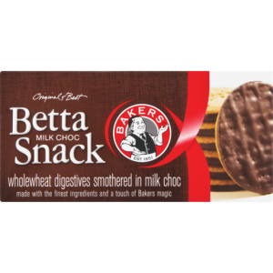Bakers Bettasnack Chocolate Biscuits 200g
