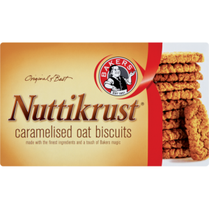 Bakers Nuttikrust Biscuits 200g