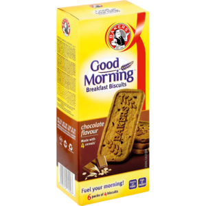 Bakers Good Morning Chocolate Breakfast Biscuits 300g