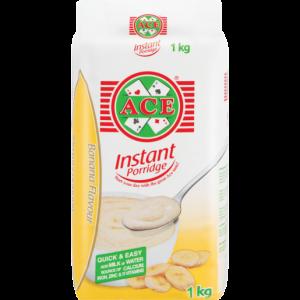 Ace Banana Flavoured Instant Porridge 1kg