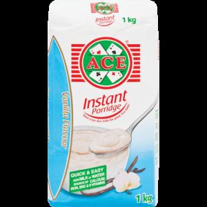 Ace Vanilla Flavoured Instant Porridge 1kg