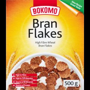 Bokomo Bran Flakes Cereal 500g