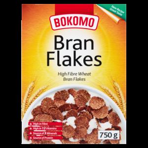 Bokomo Bran Flakes Cereal 750g