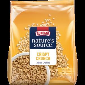 Bokomo Nature's Source Crispy Crunch Baked Granola 750g
