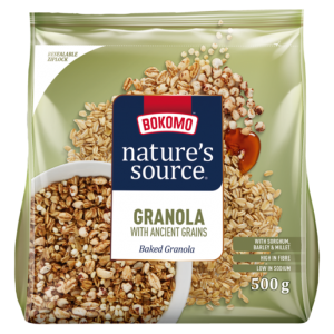 Bokomo Nature's Source Granola With Ancient Grains 500g