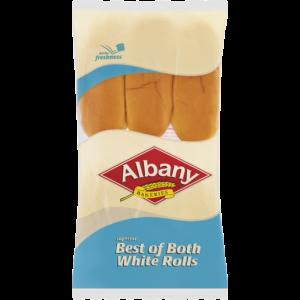 Albany Best Of Both White Rolls 6 Pack